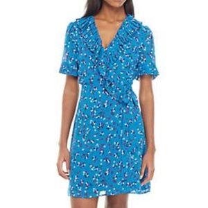 Charles Henry S/S Wrap Dress - NEW!